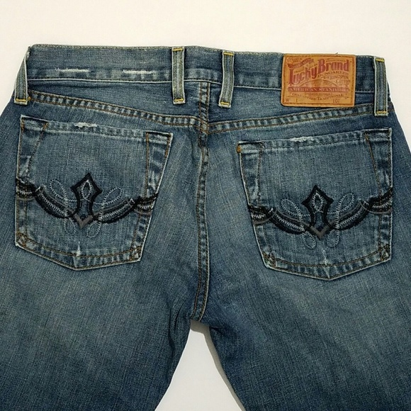 Lucky Brand Denim - Lucky Brand Lil Maggie Embroidered Jeans 4/27